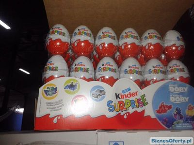 we offer on steddy supply ferrero kinder joy 20 g. european origin in stock at our warehouse in poland and italy.